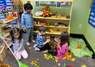 pumpkin patch pretend play