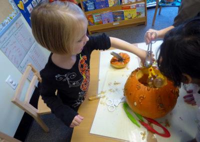sensory pumpkins