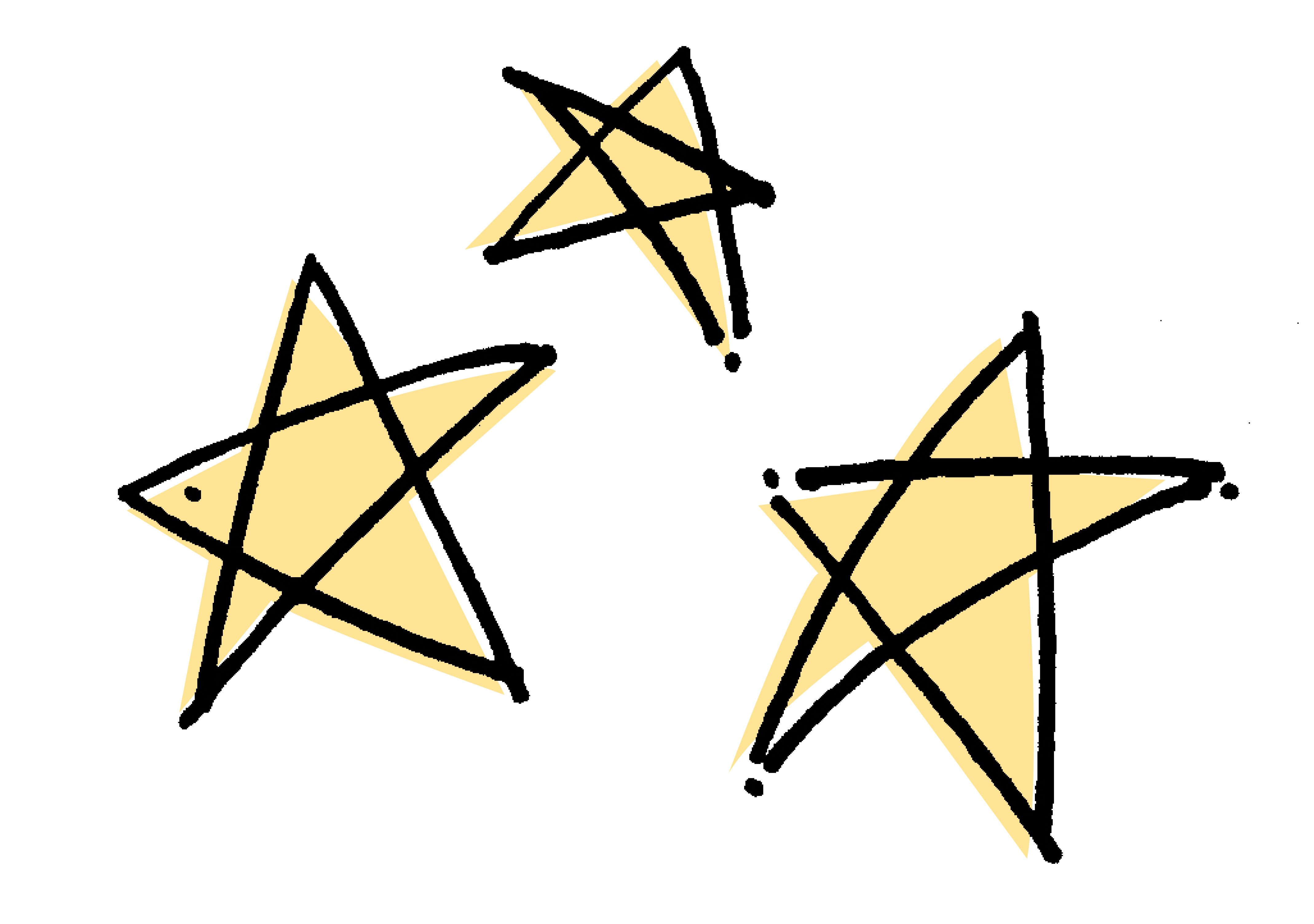 stars drawing w.color